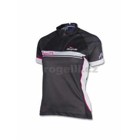dres krátký dámský Rogelli SIMONA černo/šedý