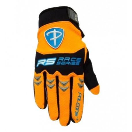 rukavice Poledník MX oranžové