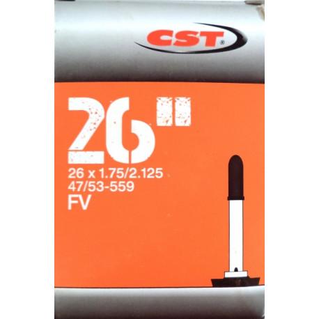 "duše CST 26""x1.75-2.125 (47/53-559) FV/36mm"