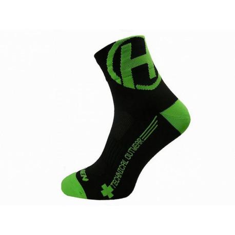 ponožky HAVEN LITE SILVER NEO 2páry černo/zelené