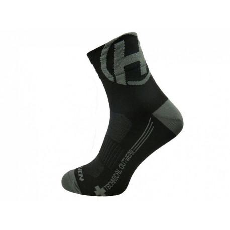 ponožky HAVEN LITE SILVER NEO 2páry černo/šedé