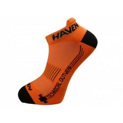 ponožky HAVEN SNAKE SILVER NEO 2páry oranžovo/černé