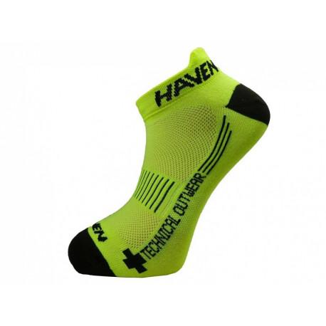 ponožky HAVEN SNAKE SILVER NEO 2páry žluto/černé