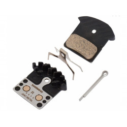 brzdové destičky Shimano XT, XTR, SLX J04C kovové original balení
