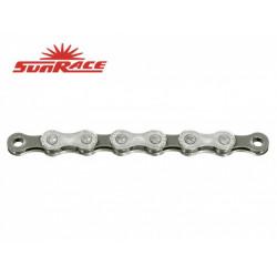 řetěz SunRace CN10A 10k 116čl. stříbrno-šedý