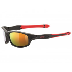 brýle UVEX Sportstyle 507 černo/červené