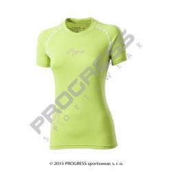 triko krátké dámské Progress E NKRZ sv.zelené