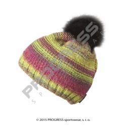 čepice dámská Progress SURI pletená barevná