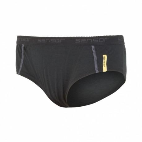 kalhotky dámské SENSOR MERINO ACTIVE černé