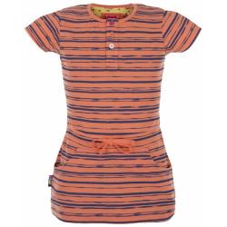 triko krátké dětské LOAP IMA oranžové/potisk