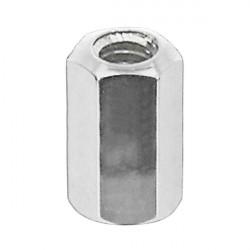 nipl CnSpoke Al 2x8mm /4,7 hex  stříbrný