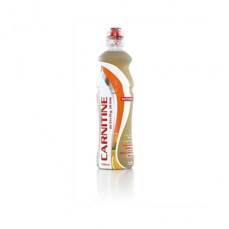 nápoj Nutrend CARNITINE with caffeine 750ml POMERANČ