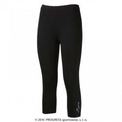 kalhoty 3/4 dámské Progress MONZA 3Q černé