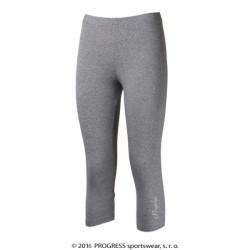 kalhoty 3/4 dámské Progress MONZA 3Q šedé