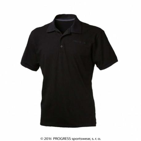 triko krátké pánské Progress POLOS černé