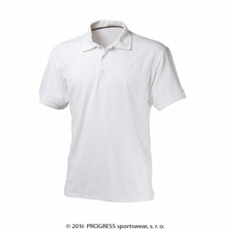 triko krátké pánské Progress POLOS bílé