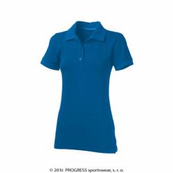 triko krátké dámské Progress POLONA modré