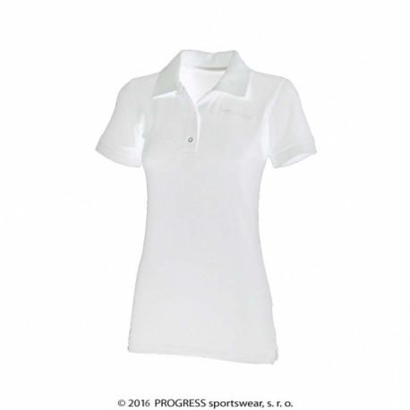 triko krátké dámské Progress POLONA bílé