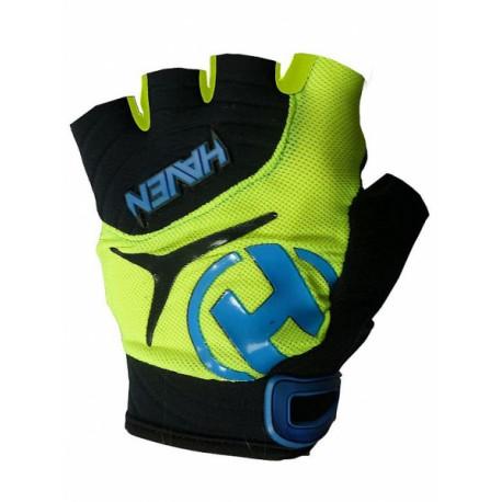 rukavice HAVEN DEMO SHORT zeleno/modré