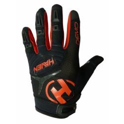 rukavice HAVEN DEMO LONG černo/červené