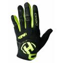 rukavice HAVEN DEMO LONG černo/zelené