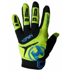 rukavice HAVEN DEMO LONG zeleno/modré