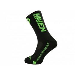 ponožky HAVEN LITE SILVER NEO LONG 2páry černo/zelené