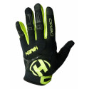rukavice dětské HAVEN DEMO LONG černo/zelené