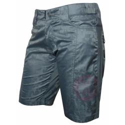 kalhoty krátké dámské HAVEN ICE LOLLY šedo/růžové