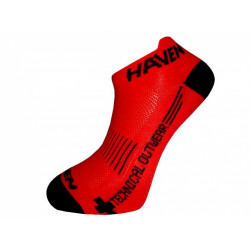 ponožky HAVEN SNAKE SILVER NEO 2páry červeno/černé