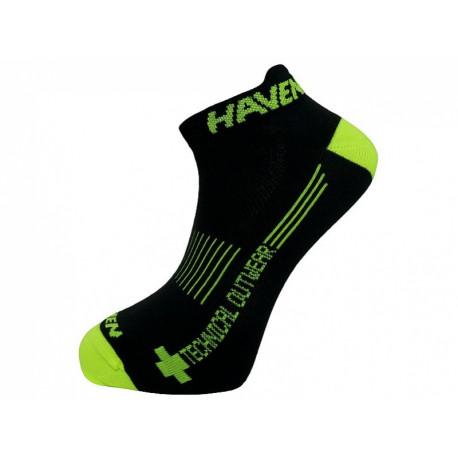 ponožky HAVEN SNAKE SILVER NEO 2páry černo/žluté