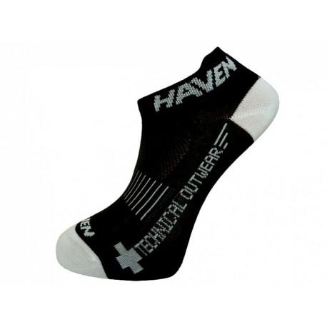 ponožky HAVEN SNAKE SILVER NEO 2páry černo/bílé