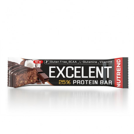 tyčinka Nutrend Excelent čokoláda+kokos 85g