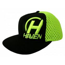 čepice HAVEN CAP černo/zelená