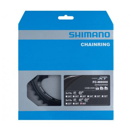převodník 40z Shimano XT FC-M8000 XT 3x11 4 díry