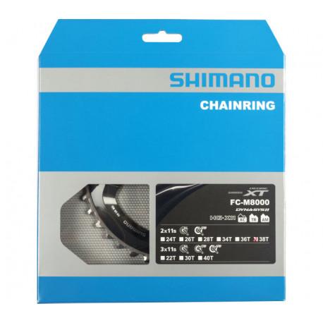 převodník 38z Shimano XT FC-M8000 2x11 4 díry