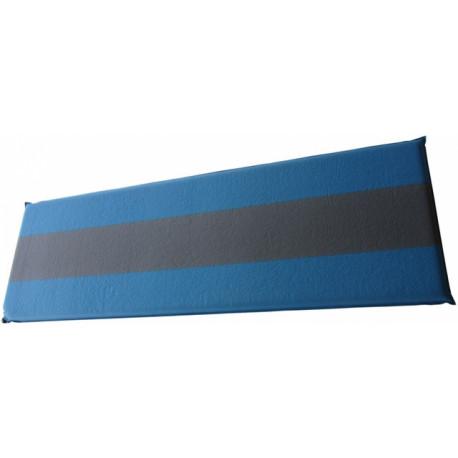 matrace samonafukovací 5cm modrošedá