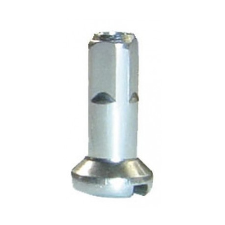 nipl CnSpoke mosaz 2x12mm stříbrný