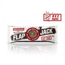 tyčinka Nutrend FLAPJACK GLUTEN FREE višeň+jahoda