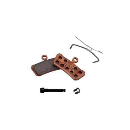 brzdové destičky SRAM Trail/Guide sintrované/ocelové