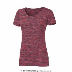triko krátké dámské Progress MELISSA růžové