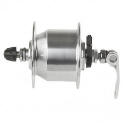 náboj dynamo 6V,3.0W 36d stříbrný rychloupínací mechanismus