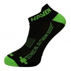 ponožky HAVEN SNAKE SILVER NEO 2páry černo/zelené