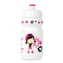 lahev ZEFAL dětská LITTLE Z+držák Girl bílá