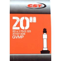 """duše CST 20""""x1.75-2.125 (47/57-406) DV/36mm"""