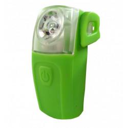 blikačka zadní 4RACE LR03 3+0,5W LED zelené
