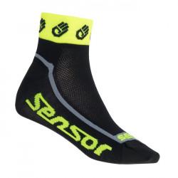 ponožky SENSOR RACE LITE SMALL HANDS fluoritové