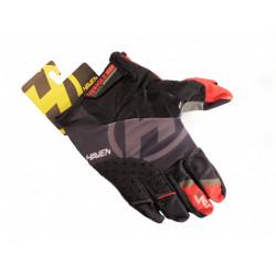 rukavice HAVEN SINGLETRAIL LONG černo/červené