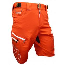 kalhoty krátké pánské HAVEN NAVAHO SLIMFIT červené