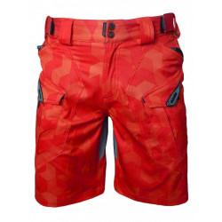 kalhoty krátké pánské HAVEN CUBES NEO červené